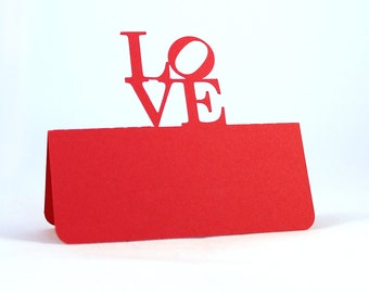 Love Place Cards Philly Set of 100
