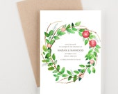 Apple Orchard Save The Date, Rustic Farm House Theme, Outdoor Reception Theme