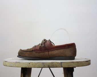 portland leather loafers / size 7