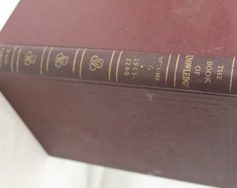 The Book of Knowledge: The Children's Encyclopedia, Vol. 6, 1955
