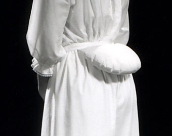 19th c. Bustle Pad, Historic Underwear, Victorian Reenactment Cosplay Steampunk