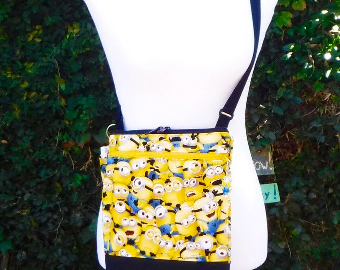 One in a Minion - cross body/shoulder made to order