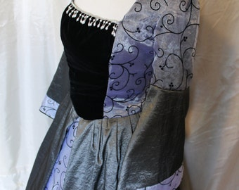 "Bust 38""  Pewter Tudor Renaissance Game of Thrones Gown Dress Medieval"