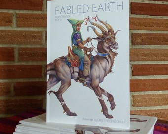 NEW! Fabled Earth: Sketchbook Volume 4
