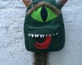 Reserved for KIT: BERRRRRNADETTE Monsterpak monster backpack