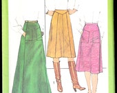 Simplicity 8203 Size 14 Misses' Set of Skirts