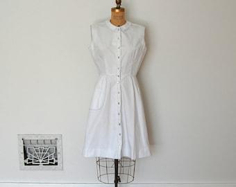 Vintage 1960s Dress - 60s Shirtwaist Dress - The Georgia