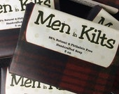 Men in Kilts - Handcrafted Soap with Luffa Powder