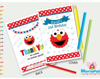 6 elmo coloring books personalized coloring books sesame street birthday party favors elmo