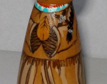 St. Kateri Tekawitha wooden doll