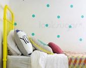 Polka Dot Wall Stickers - Circle Stencils Pattern Wall Stickers - Polka Dot Decals - AP0017NF
