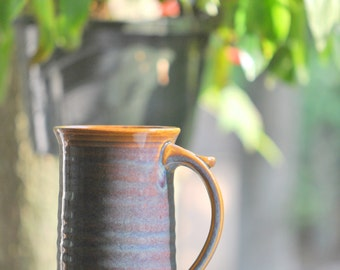 Large (16-ounce) Stoneware Mug for Coffee or Tea in Opal