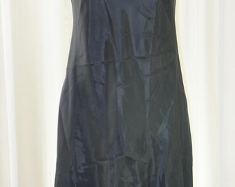 Banana Republic Slip Dress Gray Deadstock Darted Bust and Back Semi-fitted Perfect Mint Condition