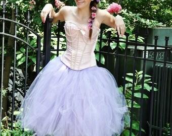 Adult Tutu  Princess Tutu - Lilac tutu costume  Woman tutu -  Ladies Tutu  SEWN tutu Teen Tutu  tutu skirt - tulle skirt - Halloween tutu