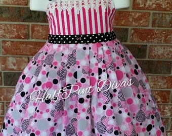 Minnie Inspired Boutique Sundress Size 4T RTS
