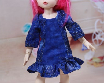 "Dress Pattern for 1/6 BJD YoSD 10 to 12"" Dolls"