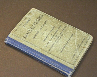 Vintage  Luther's Small Catechism - 1893