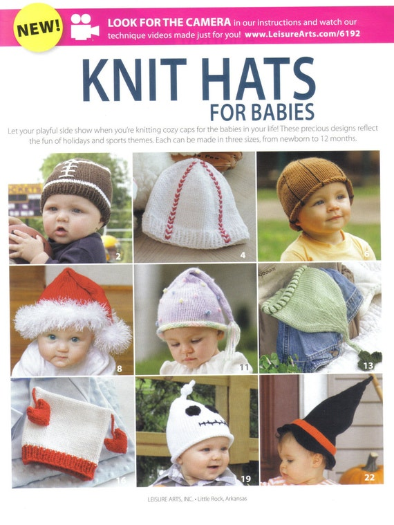 Knitting For Babies Books : Baby hat knitting patterns knit hats for babies pattern