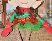 Free Shipping Ultimate Handmade Girl Elf  Doll~This Elf Doll is so Adorable you will Fall in Love with Her.