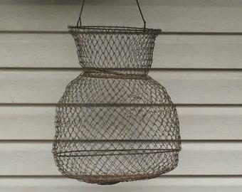 Wire Basket Fruit Basket Fishing Basket