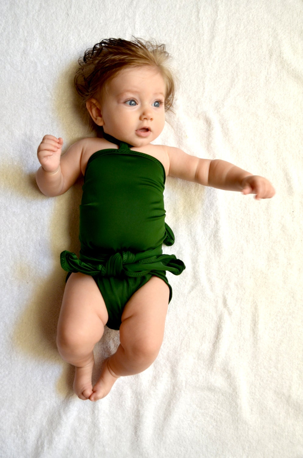 Baby Swimwear. Treat your water baby to our collection of gorgeous swimwear. For the smallest swimmers, choose our swim diapers to keep accidents contained at the pool or beach without the need for another diaper underneath.