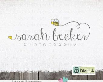 logo design photography logo premade logo photographer logo premade logo design bee logo heart logo photography logos and watermarks Sewing