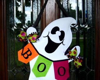 Ghost Boo Halloween Hanger