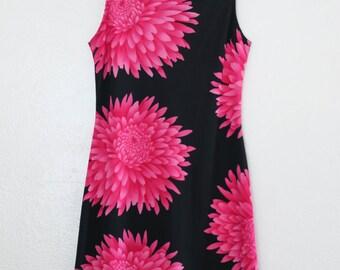 sale // floral shift dress - S