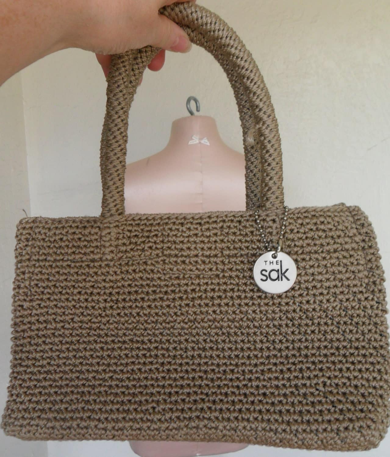 Vintage The Sak Crochet Purse Elliott Lucca by desertgraceboutique