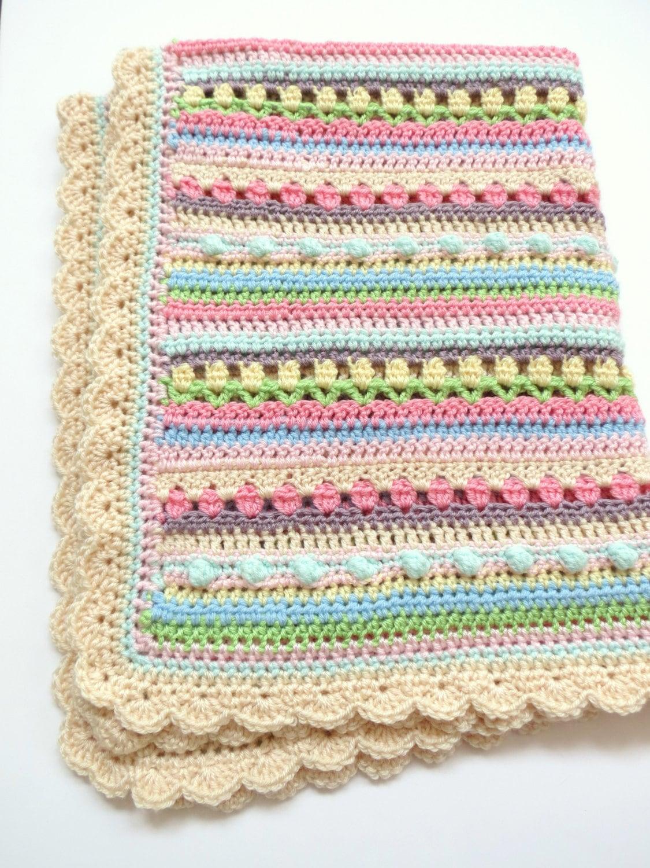 Confetti Baby Blanket Pattern