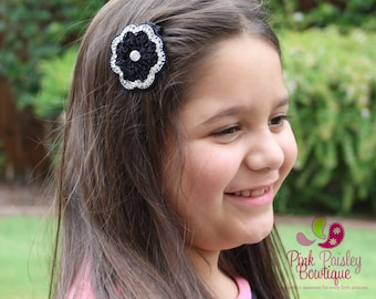 Pick Any 1 Flower Clips - Baby Girl HairClips - Alligator Clips - Baby Girl Hair Bow - Baby Hair Accessories - Toddler Bows - Indian outfit