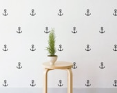 Mini Anchor | Removable Wall Decal & Sticker for Home, Office, Nursery | LSB0204VCC-S