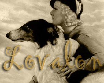 1930's Fashion Pet... Vintage Glamour Photo... Deluxe Art Print... Available In Various Sizes