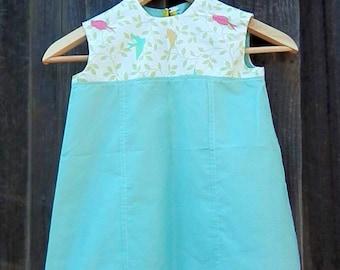Girl's Size 2T Little Birds Dress