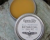 All-Purpose Botanical Salve - infused with 14 organic & wild plants