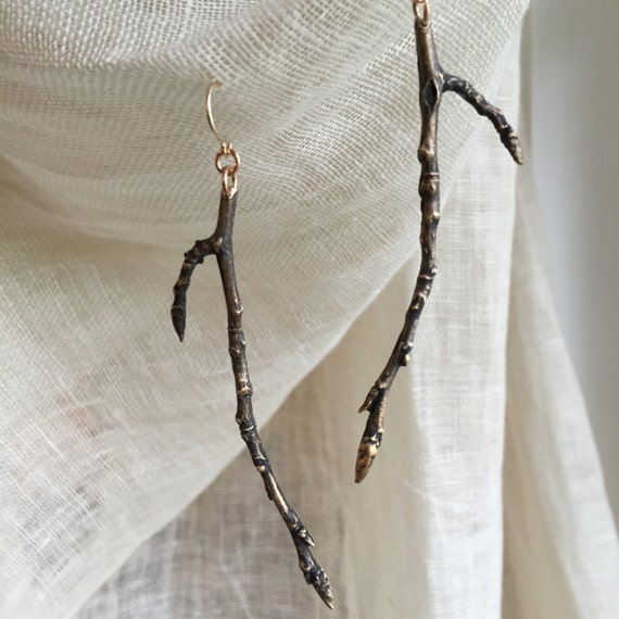 Sleepy Hollow Aspen Twig Earrings
