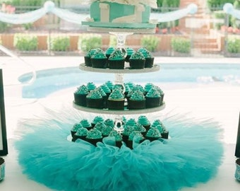 4 Tiered Cupcake Stand               Frozen or Cinderella Inspired