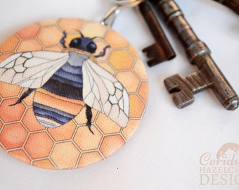 Bee Key Ring Bottle Opener