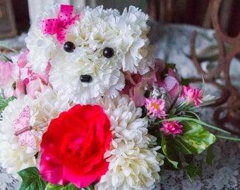 Precious Puppy White