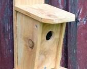 Reclaimed Cedar Bluebird House