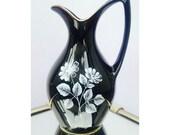 """Wade """"Black Frost"""" Range Jug / Vase 1965-62"""