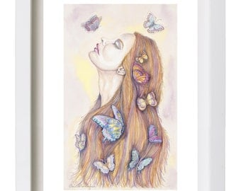 Fashion Illustration Print Fashion Art Watercolor Fashion Poster Fashion Painting Fashion Decor Wall Art Fashion Print Limited Edition