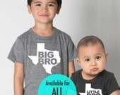 All States 'Big Bro' or 'Little Bro' Tri-Blend Infant, Toddler, Kids, Youth Track Brothers T-Shirt