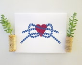 Knotted Love - Wedding - Love Greeting Card