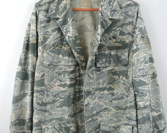 Camo Shirt Camouflage Shirt Camo Jacket Military Jacket Digital Camo Air Force Jacket Camouflage Jacket Camo Shirt Jacket
