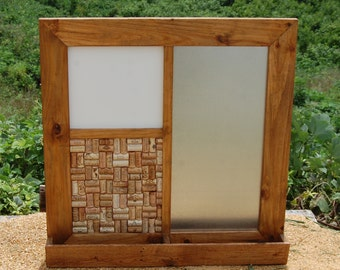 Message Center/ Mail Holder/ Wall Organizer/ Wall Hanging/ Framed