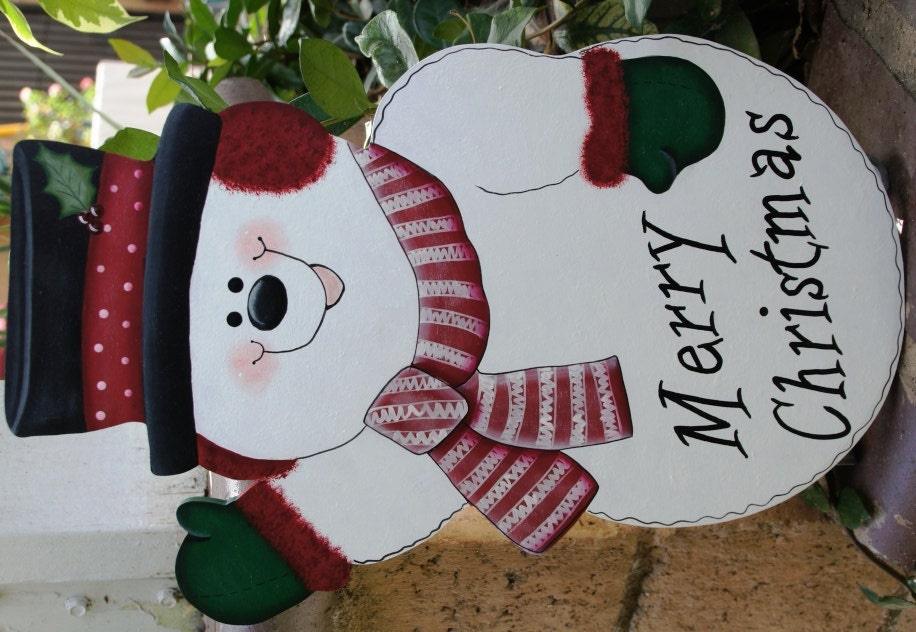 Christmas snowman outdoor yard stake wood winter sign for 36 countdown to christmas snowman yard decoration
