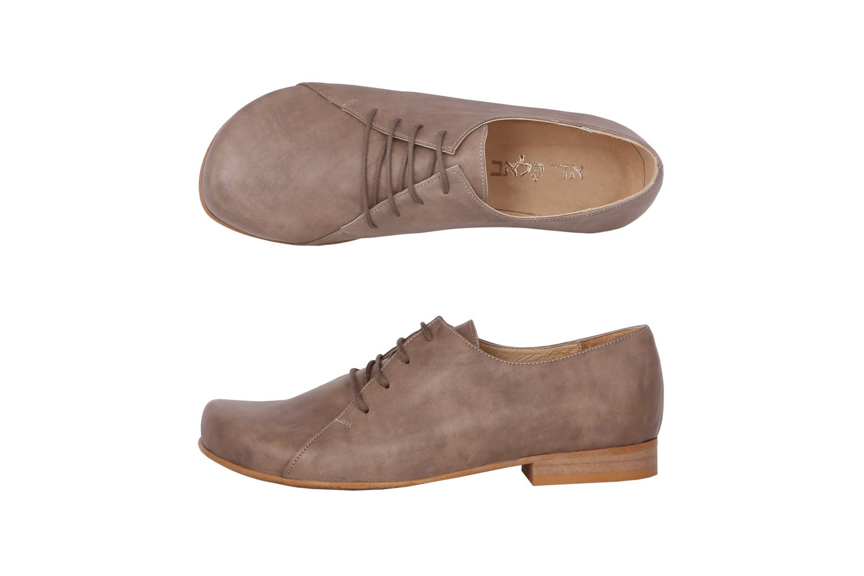 s shoes greenish gray leather flats handmade by adikilav