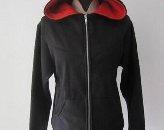 Assassin Beaked Cosplay Costume Hoodie Jacket (Black Version)