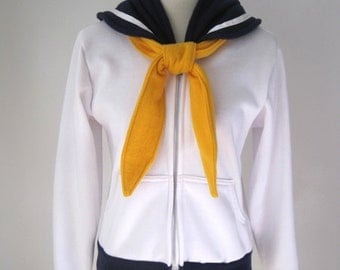 Sailor Uranus Seifuku Uniform Cosplay Costume Suit Hoodie Jacket